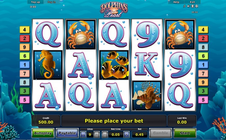 Dolphin's Pearl игровой автомат